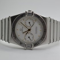 Omega Constellation Day-Date Steel 33mm White No numerals
