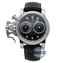 Graham Chronograph 43mm Automatic pre-owned Chronofighter R.A.C. Black