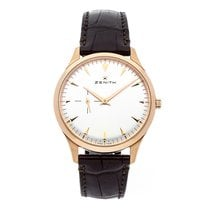 Zenith Elite Ultra Thin pre-owned 40mm Rose gold
