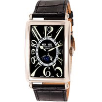 Franck Muller 45mm Automatic pre-owned Long Island Black