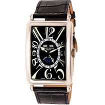 Franck Muller White gold Automatic 45mm Long Island