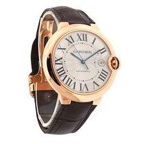 Cartier Ballon Bleu 18K Rose Gold Mens Watch B/P W6900651