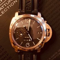 Panerai PAM 00289 Or rose 2008 Luminor 1950 8 Days GMT 44mm occasion