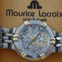 Maurice Lacroix Skeleton Skelette Automatic Art Deco Fancy...