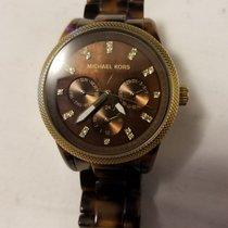 Michael Kors Chronograph Quartz 2010 pre-owned Brown