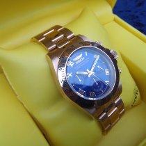 Invicta Chronograph 40mm Quarz 2003 gebraucht Blau