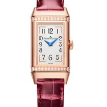 Jaeger-LeCoultre Reverso Duetto Rose gold 40mm Silver
