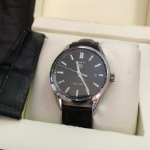 TAG Heuer 39mm Automatic pre-owned Carrera Calibre 5 Black