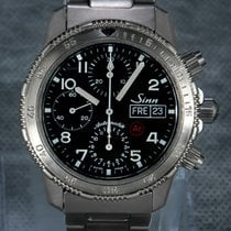 Sinn Chronograph 41mm Automatic pre-owned 103 Black
