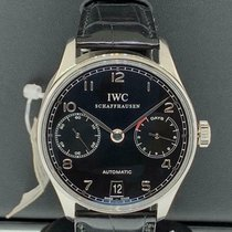 IWC Portuguese Automatic Steel 42.3mm Black United States of America, New York, New York