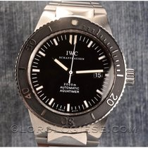 IWC Aquatimer Automatic 2000 Staal 42mm Zwart