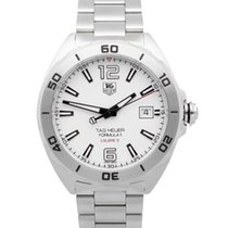 TAG Heuer Formula 1 Calibre 5 Steel 41mm White