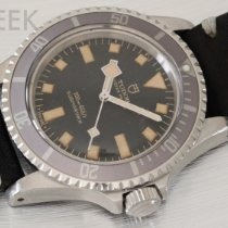 Tudor Submariner Stål 39mm Sort Ingen tal