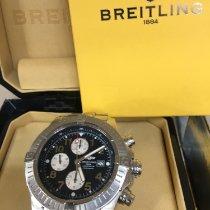 Breitling Super Avenger usados 48mm Azul Cronógrafo Fecha Acero