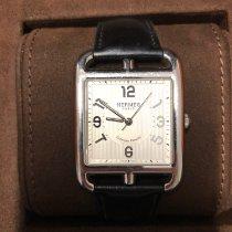 Hermès Cape Cod Aço 153mm Branco