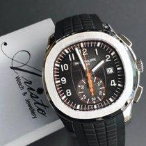 百達翡麗 Aquanaut 鋼 42.2mm 黑色 阿拉伯數字 香港