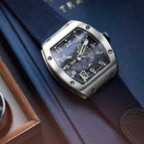 Richard Mille Witgoud 37.8mm Handopwind Richard Mille RM 005 AE white gold tweedehands