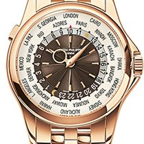 Patek Philippe World Time 5130/1R-011 Very good Rose gold 39.5mm Automatic