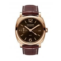 Panerai Red gold Manual winding Brown Arabic numerals new Special Editions