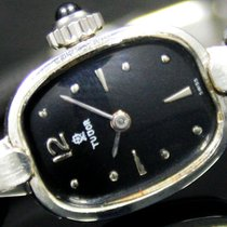Tudor pre-owned Manual winding 15mm Black