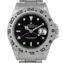 Rolex Explorer II Black Dial, With Papers, Ref: 16550, With...