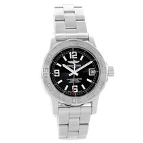 Breitling Colt 33 Black Dial Stainless Steel Ladies Watch A77380