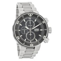 Oris Pro Divers Mens Swiss Automatic Chronograph Watch...