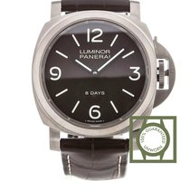 Panerai Luminor Base 8 Days Titane 44mm Brun