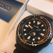 Seiko Prospex Kinetic GMT Diver – Black Dial – Black Case &...