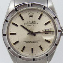 Rolex Oyster Perpetual Date Steel 34mm Silver No numerals United States of America, Texas, San Antonio