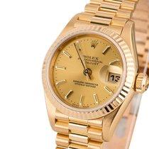 Rolex Lady-Datejust καινούριο 26mm Κίτρινο χρυσό