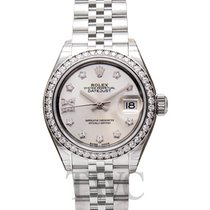 Rolex 279384RBR Or blanc Lady-Datejust 28mm nouveau