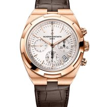 Vacheron Constantin Rose gold Automatic 42.5mm new Overseas Chronograph