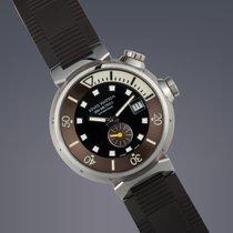 Louis Vuitton 44mm Automatic 2008 pre-owned Black