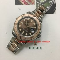 Rolex 116621 Yacht-Master 40mm Rose Gold & Steel Mint W card