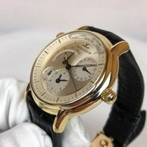 Jaeger-LeCoultre Master Geographic Yellow gold 38mm Gold No numerals United Kingdom, Edinburgh
