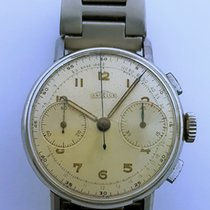Angelus Chronograph stainless steel (vintage chronographe)