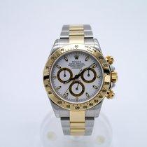 Rolex Chronograph 40mm Automatik 2005 gebraucht Daytona Weiß