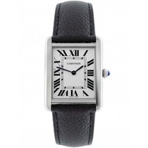 Cartier WSTA0028 Steel Tank Solo 34.8mm