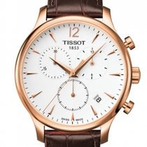 Tissot Tradition Staal 42mm Wit