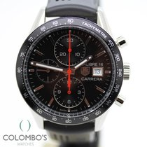 TAG Heuer Carrera Calibre 16 Acero 41mm Negro Sin cifras España, Granollers, colomboswatches.com