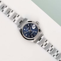 Rolex Oyster Perpetual Lady Date Acero 26mm Azul