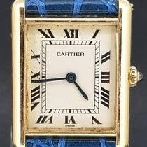 Cartier Tank Louis Cartier Or jaune 23mm Blanc Romain Belgique, Antwerpen