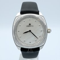 Zenith White gold Automatic Mother of pearl 33mm new Star