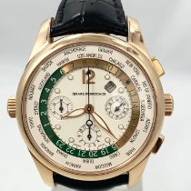Girard Perregaux WW.TC Rose gold 43mm Black Arabic numerals United States of America, California, Marina del Rey