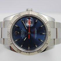 Rolex Datejust Turn-O-Graph Çelik 36mm Mavi Sayılar yok