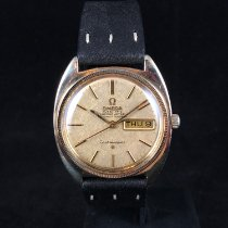 Omega Constellation Day-Date Staal 35mm Goud Geen cijfers