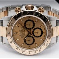 Rolex Daytona Gold/Steel 40mm Gold No numerals Finland, Imatra