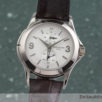 Patek Philippe Travel Time Bjelo zlato 37mm Srebro