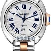 Cartier Clé de Cartier Gold/Steel 31mm Silver United States of America, New York, Airmont